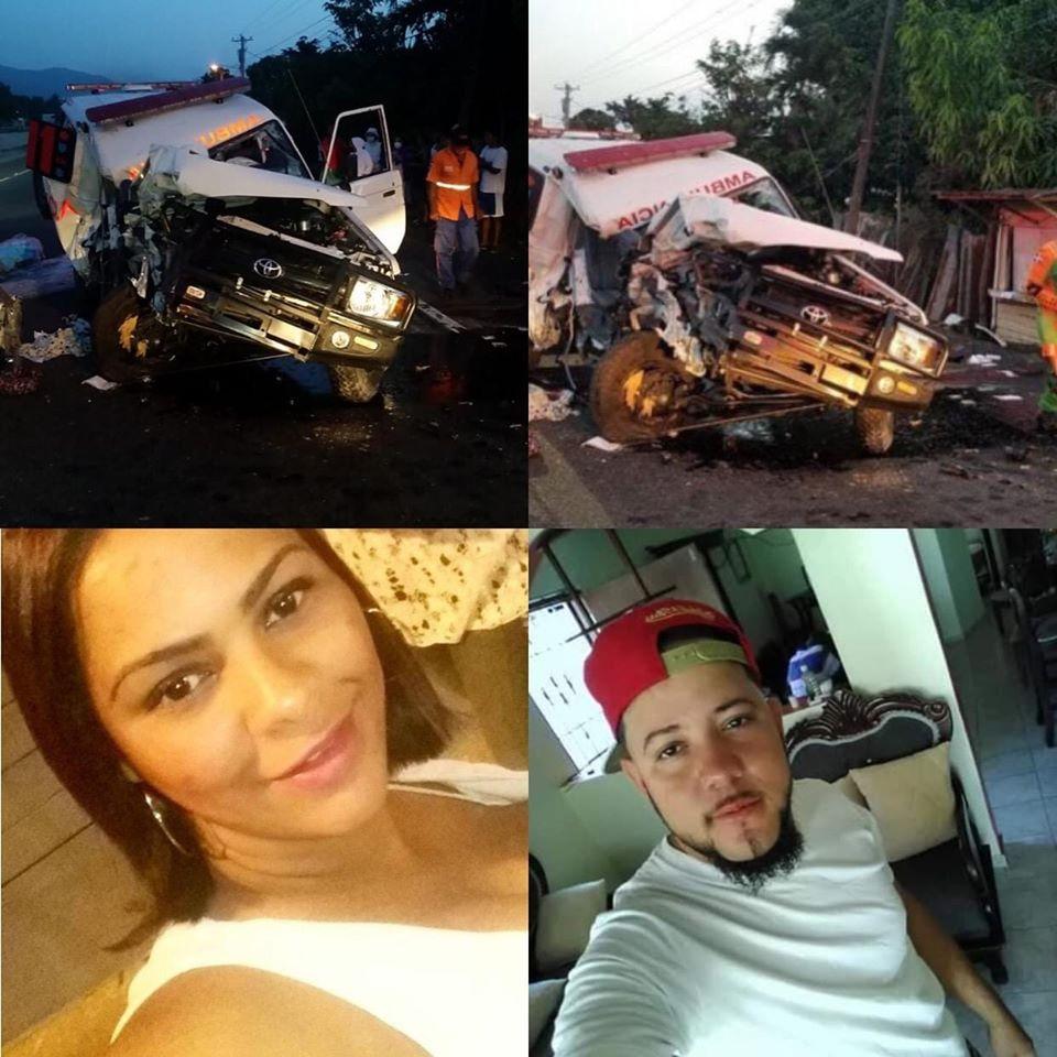 Photo of Ambulancia protagoniza accidente y deja dos fallecidos en la Ceibita Bonao.