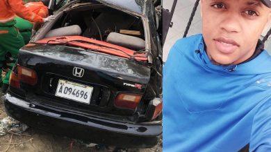 Photo of En Montecristi Muere joven en accidente de tránsito dos resultan heridos